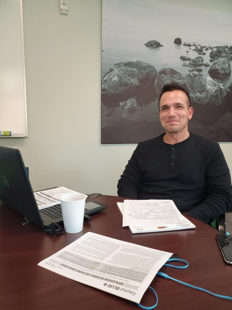 Brian Miskini's first day at UniPower LLC